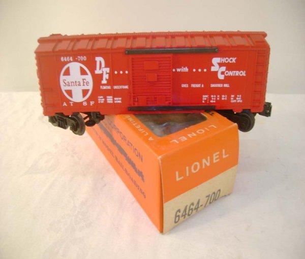 519: ABT: Mint Lionel #6464-700 SF Box Car/Brick Pix OB