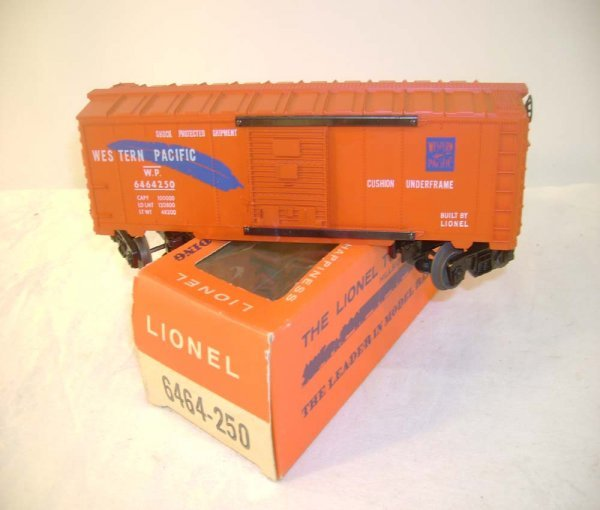 522: ABT: Mint Lionel #6464-250 WP Box Car/66c OB