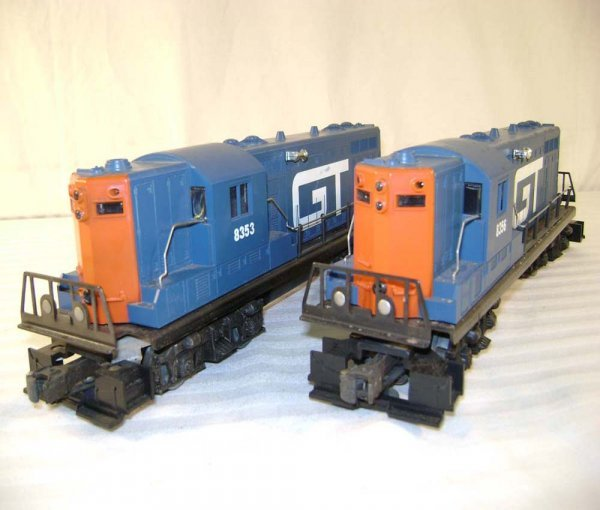 4: ABT: Lionel #8353/#8356 Grand Trunk GP-7 Diesels