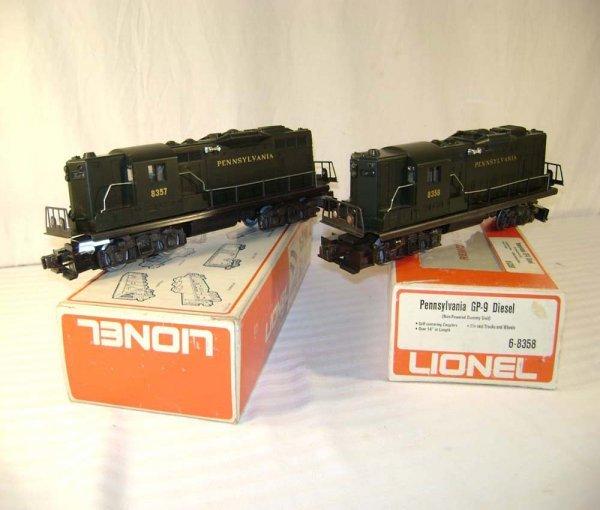 6: ABT: Lionel #83578 Pennsylvania GP-9 Diesels/Obs