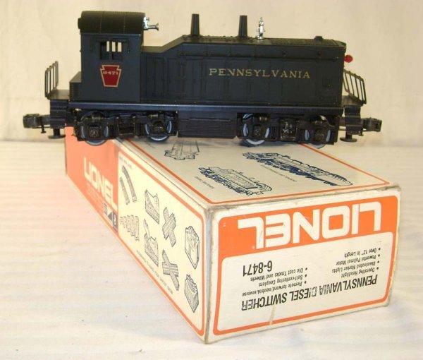 8: ABT: Lionel #8471 Pennsylvania Diesel Switcher/ OB