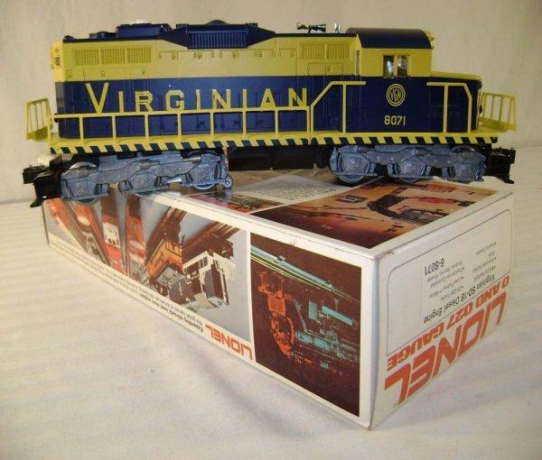 12: ABT: Mint Lionel #8071 Virginian SD-18 Diesel/Ob