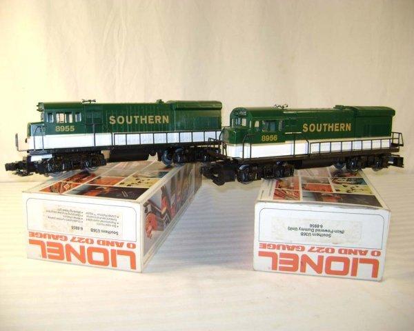 21: ABT: Lionel #8955/8956 Southern U36B Diesels/Obs