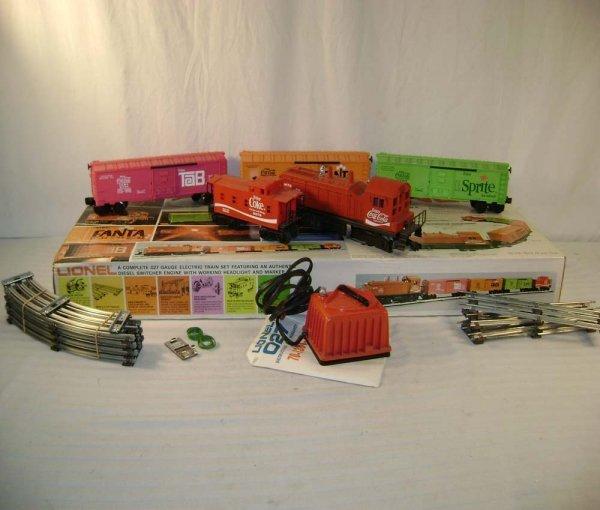 115: ABT: Lionel #1463 Coke Switcher Freight Set/OB