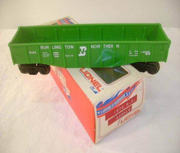 124: ABT: Lionel Quality Control Sample: #9141 Green Bu