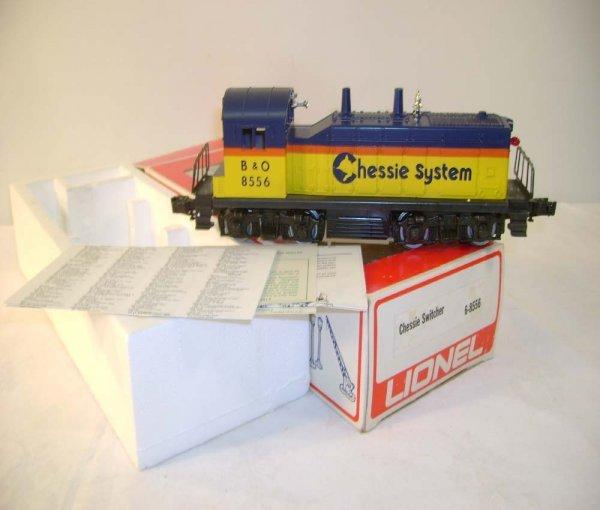 1302: ABT: Lionel #8556 Chessie Diesel Switcher/Nice OB
