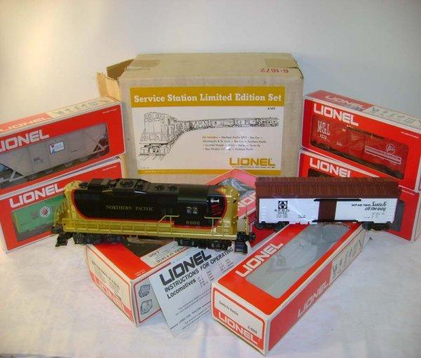 1305: ABT: Mint Lionel #1672 NP GP SSS Freight Set/OB