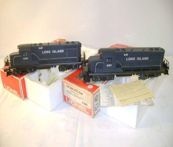 1307: ABT: Lionel #8360/7 Long Island GP-20 Diesels/Obs