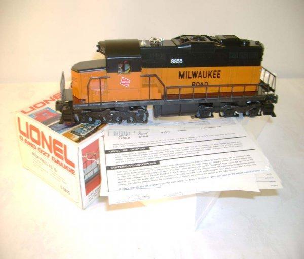 1309: ABT: Lionel #8855 Milwaukee Road SD-18 Diesel/OB