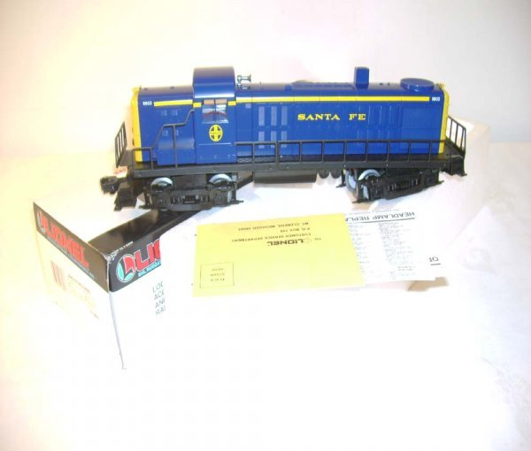1313: ABT: Mint Lionel #18803 Santa Fe RS-3 Diesel/OB