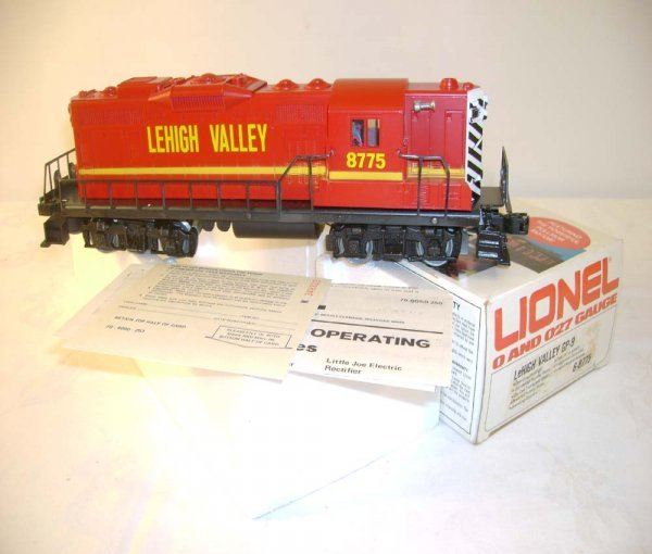 1314: ABT: Mint Lionel #8775 Lehigh Valley GP-9 Diesel/