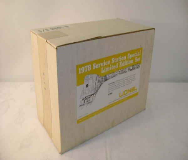 1315: ABT: Sealed Lionel #1868 M&SL SSS Set/OB