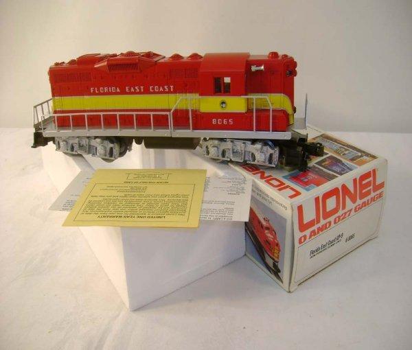 1316: ABT: Mint Lionel #8065 Florida East Coast GP-9/ O