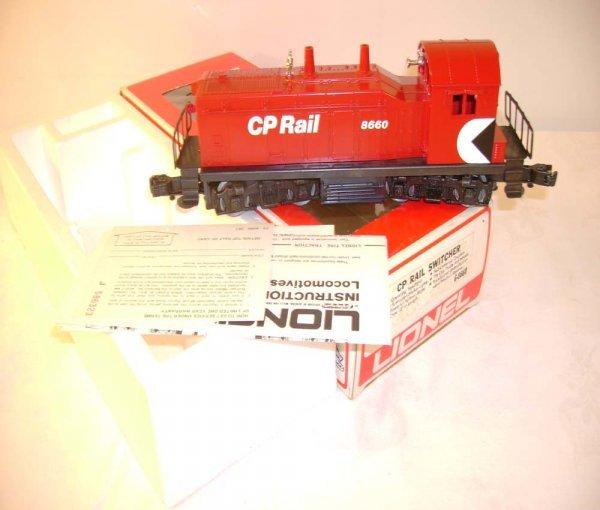 1317: ABT: Mint Lionel #8660 CP Rail Diesel Switcher/OB