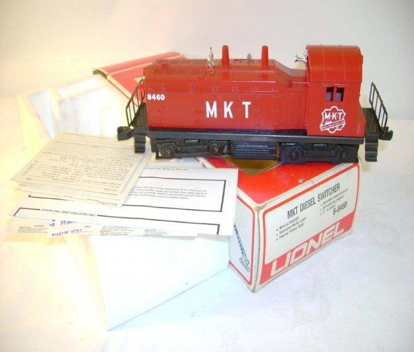 1319: ABT: Lionel #8460 MKT Diesel Switcher/Brick OB