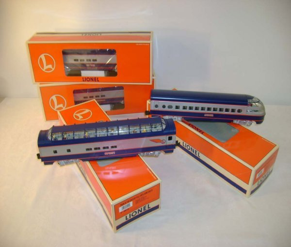 1320: ABT: Mint Lionel #39110 Train of the Century/ Obs