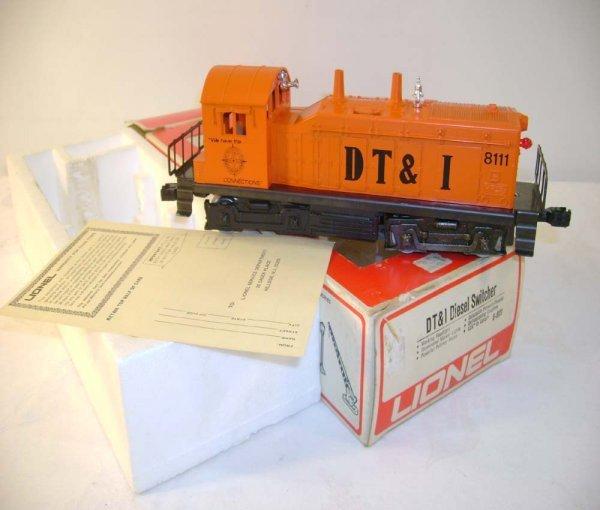 1321: ABT: Lionel #8111 DT&I Switcher/Scarce Box