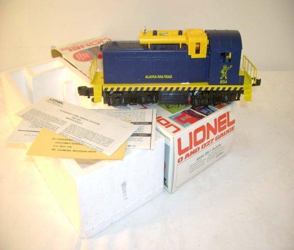 1322: ABT: Lionel #8154 Alaska Railroads SW-1/ OB