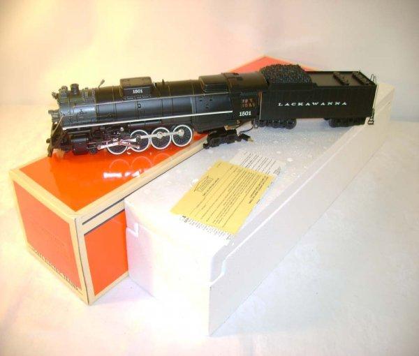 1548: ABT: Lionel #18003 DL &W 4-8-4 Steam & Tender/OB