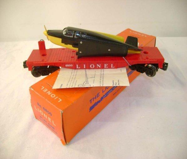 2: ABT: Lionel #6800 Airplane Car/Scarce 59 OB