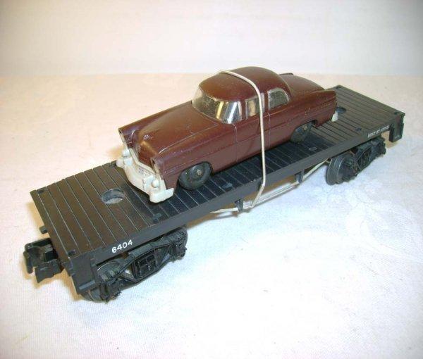 3: ABT: Mint Lionel #6404 Flat w/ Brown/Gray Auto