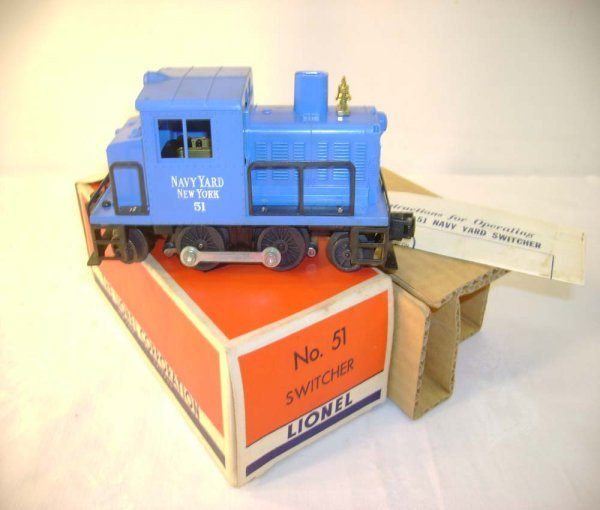 6: ABT: Incredible Lionel #51 US Navy Switcher/ OB+