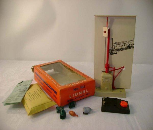 14: ABT: Mint Lionel #161 Mail Pickup Set/Brick OB+