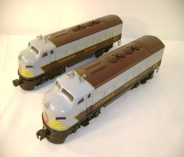 55: ABT: Lionel #2373 Canadian Pacific F-3 AA Diesels