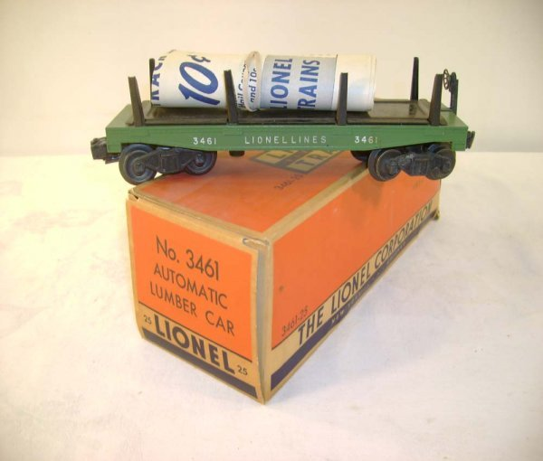 249: ABT: Lionel #3461-25 Green Log Dump/Nice OB+
