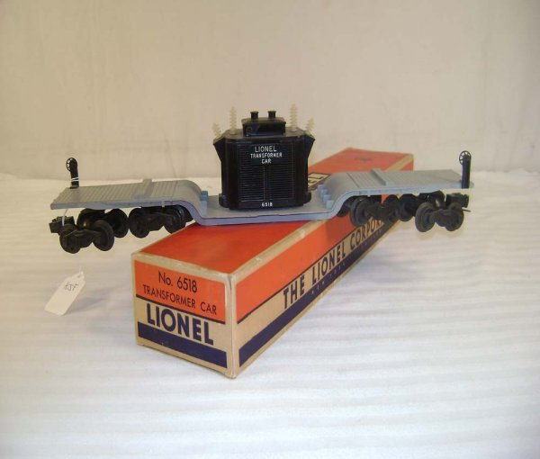 251: ABT: Lionel #6518 16 Wheel Transformer Car/ OB