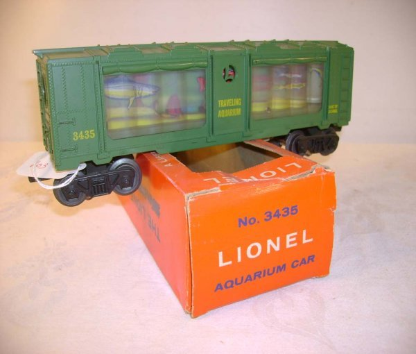 254: ABT: Lionel #3435 Operating Aquarium Car/OB