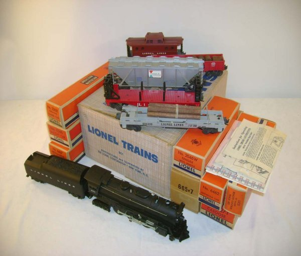 700: ABT: Lionel #801 (2257WS) 1956 Freight Set/OBs+