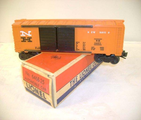 703: ABT: Lionel #6468-25 White N NH Box Car/Brick OB