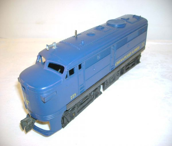 706: ABT: Great Lionel #225 C&O Alco A Diesel