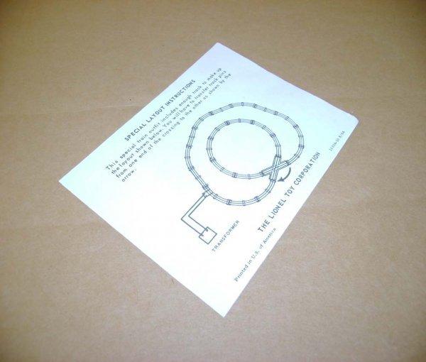 716: ABT: Lionel #19394-10 8/64 Instruction Sheet/ Sub