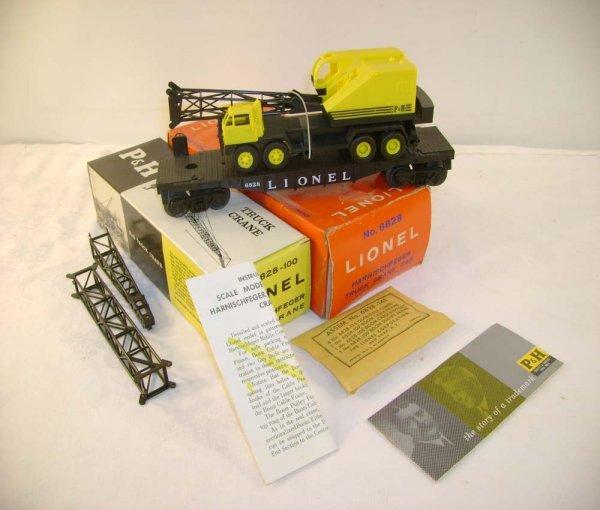 719: ABT: Mint Lionel #6828 P&H Crane/ 59 OB+