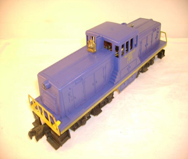 722: ABT: Lionel #626 B&O Central Cab Switcher