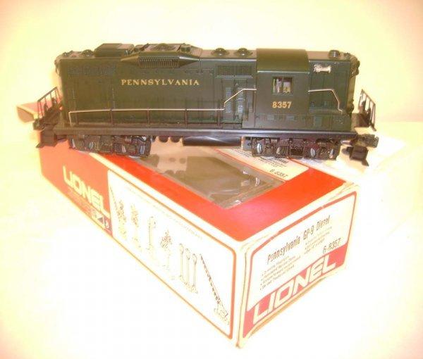 2: ABT: Lionel #8357 Pennsylvania GP-9 Diesel/OB
