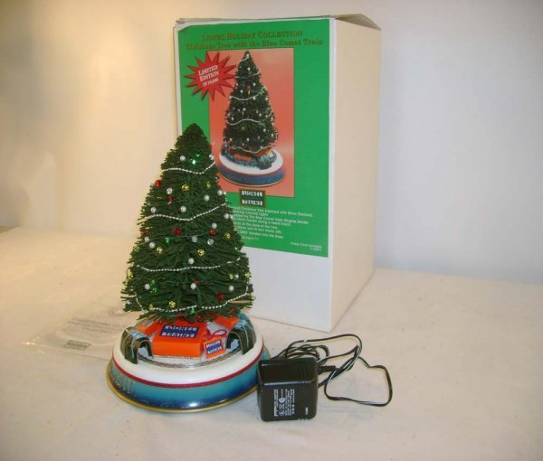 4: ABT: Mint Lionel #22991 Christmas Tree w/ Set/OB