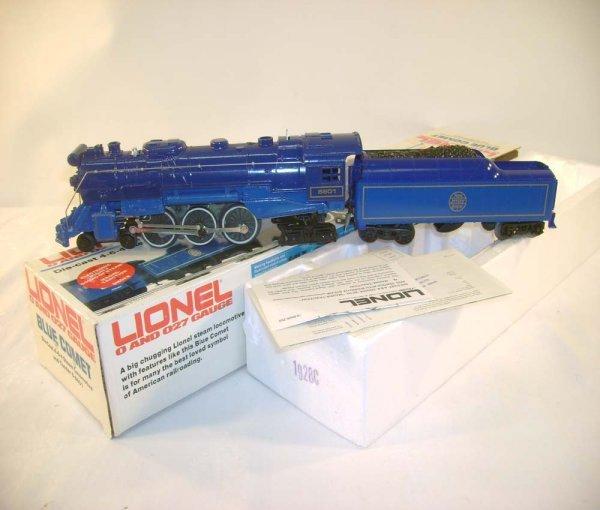 12: ABT: Lionel #8801 Blue Comet & Tender/OB