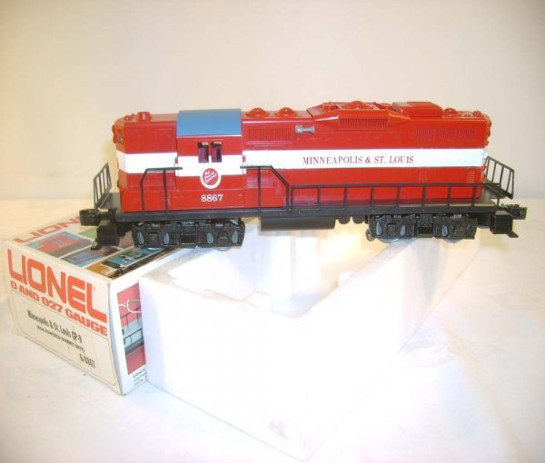 13: ABT: Mint Lionel #8867 M&SL GP-9 Diesel/OB