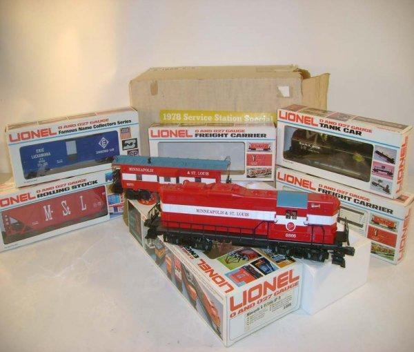 15: ABT: Lionel #1868 M&SL SSS Freight Set/OB