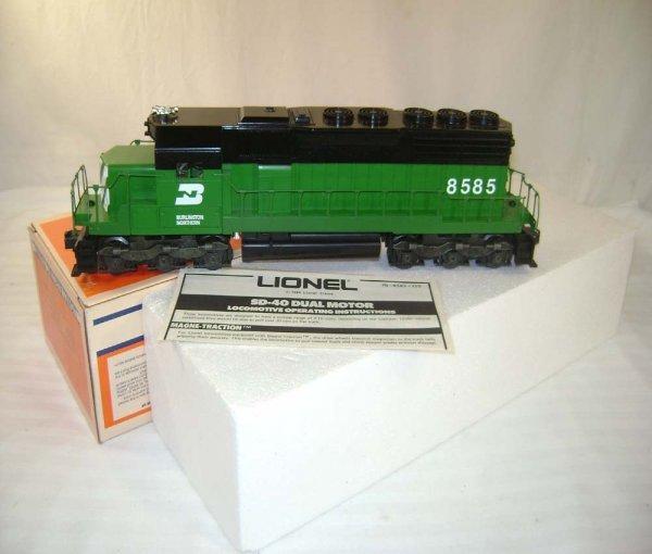 17: ABT: Mint Lionel #8585 BN SD-40 Diesel/OB