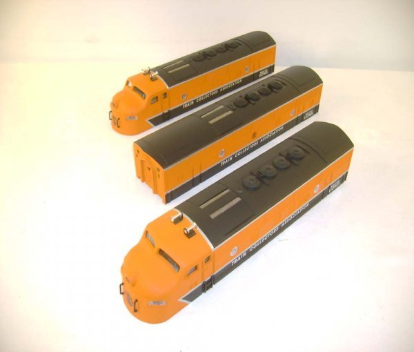 78: ABT: Mint Lionel #11737 Replacement TCA F-3 Cabs/ O