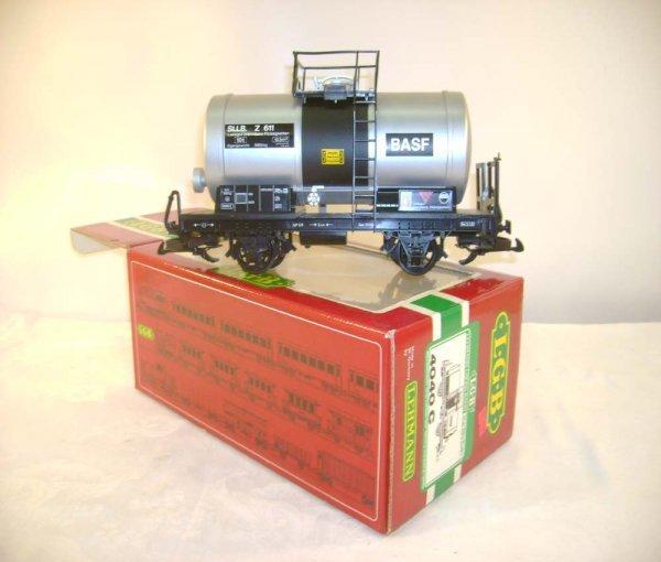259: ABT: LGB #4040C BASF Silver & Black Tank Car/OB