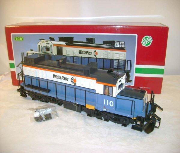 260: ABT: LGB #2055 White Pass Diesel/Brick OB