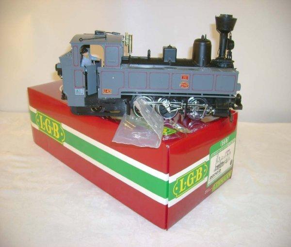 265: ABT: LGB #2070D 0-6-2 Steam Engine/Brick OB