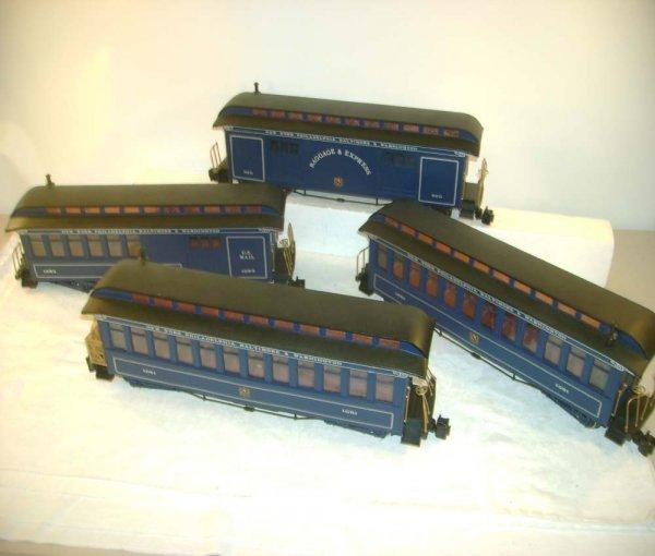 267: ABT: 4 Beautiful Deep Blue NY, Phil, Balt & DC Car
