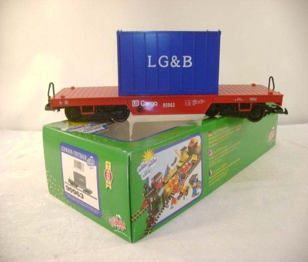 269: ABT: Great LGB #90963 Container Flat Car/OB