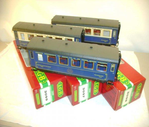 271: ABT: LGB #3097/3098/3099 Orient Express Cars/Obs